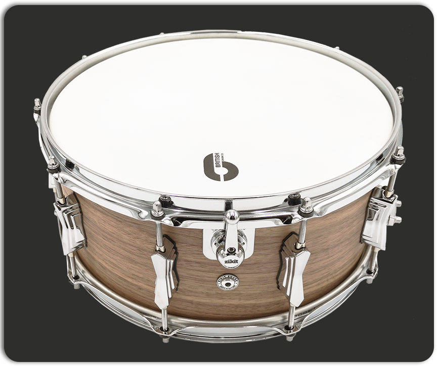 Zikit Snare by British Drum Company