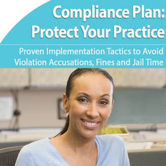Physician practice compliance plan