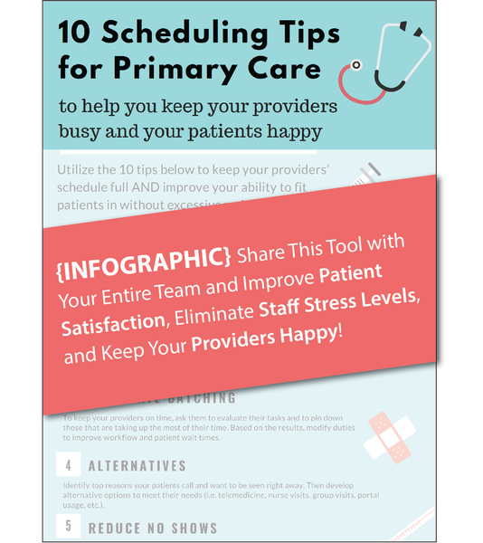 10 Scheduling Tips for Primary Care