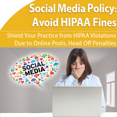 Social Media HIPAA Violation Protection