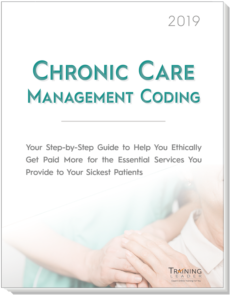 Chronic Care Management Coding 2019 Expert Report