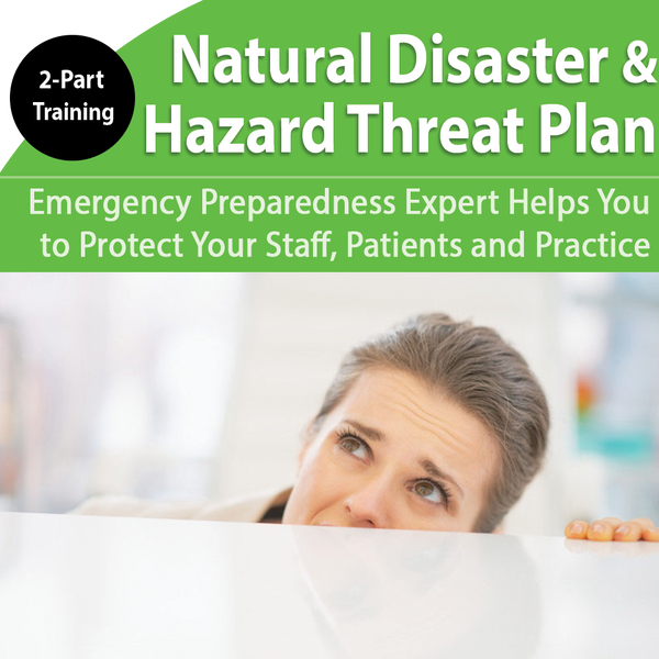 2-Part Emergency Preparedness Training: Natural Disasters Recovery & Hazard Vulnerability
