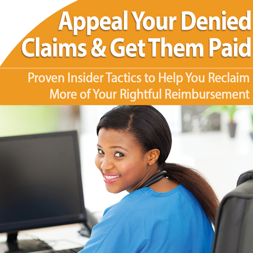 (2017) Appeal Your Claims, Get Them Paid