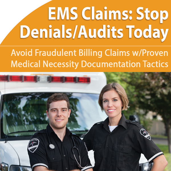 EMS Claims Stop Denials Audits Today