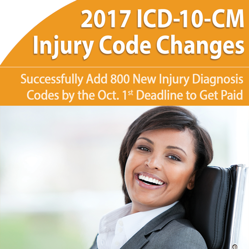 ICD-10-CM: Massive 2017 Injury Code Changes