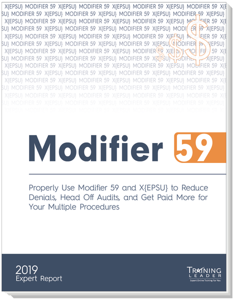 New Modifier 59: 2019 Expert Report