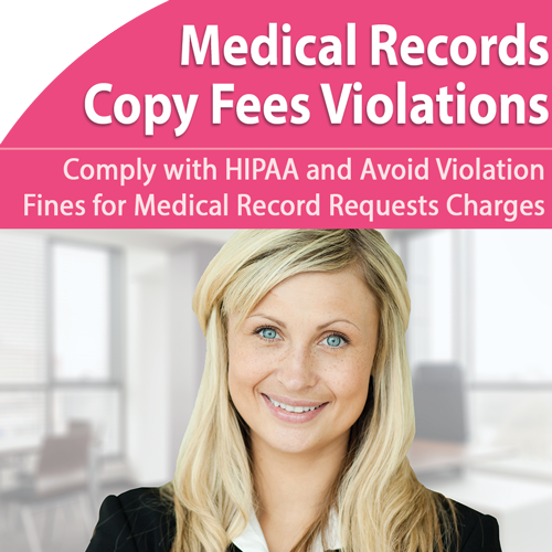Medical Records: Avoid HIPAA Violation Copying Fee - November 13th @ 1pm ET