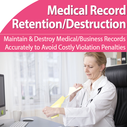 Head Off Medical Records Retention/Destruction Violations