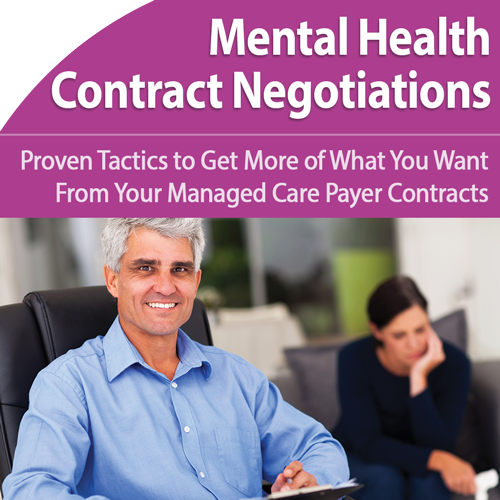 Mental Health Contract Negotiations That Work
