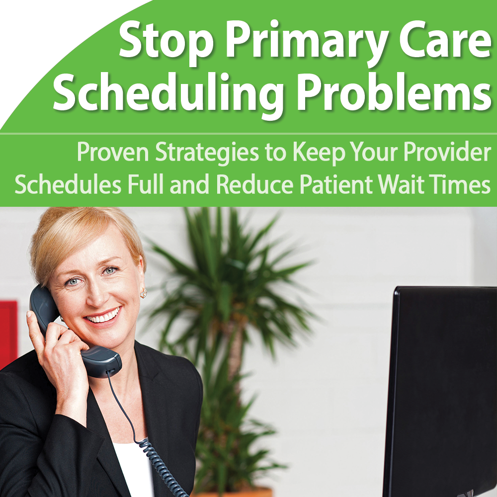 Stop Primary Care Scheduling Problems