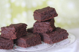 KetoBakes frosted brownies