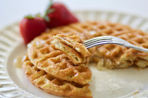 Sweet Maple Waffles & Pancakes | 2g net carbs