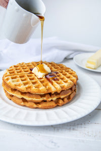 Golden Waffles & Pancakes | 2g net carbs