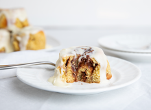 Load image into Gallery viewer, Frosted Cinnamon Rolls | 2g net carbs
