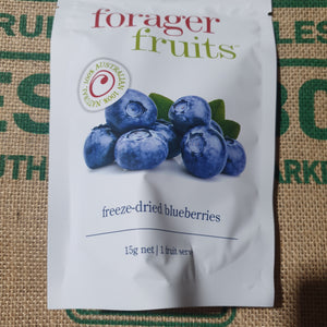 Blueberries - Freeze dried 15g pack (forager  fruits)
