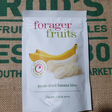 Banana -Freeze dried bites (Forager fruits) 15g