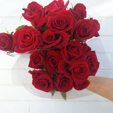 Roses- Red/ Bunch Reduced to clear