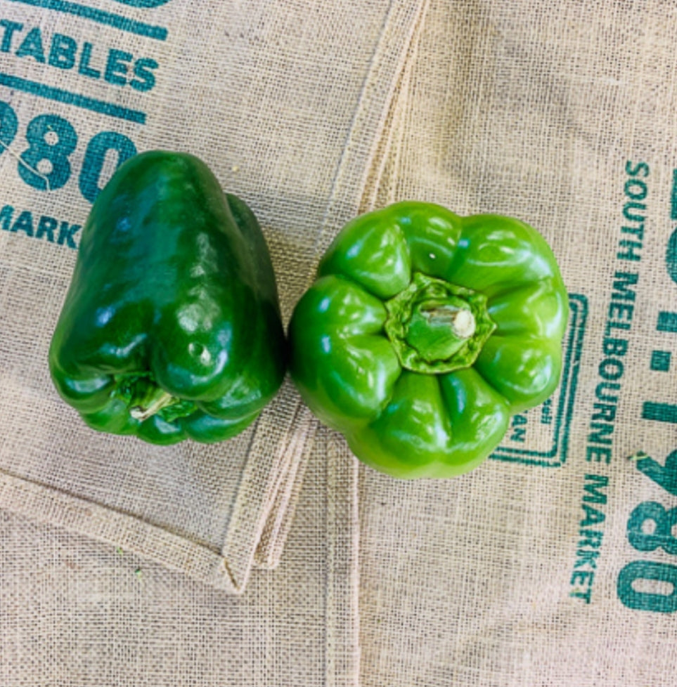 Capsicum, green (each)
