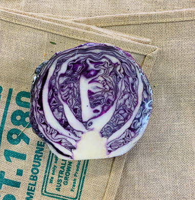 Cabbage, Purple (half)