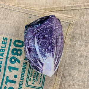 Cabbage, Purple (quarter)