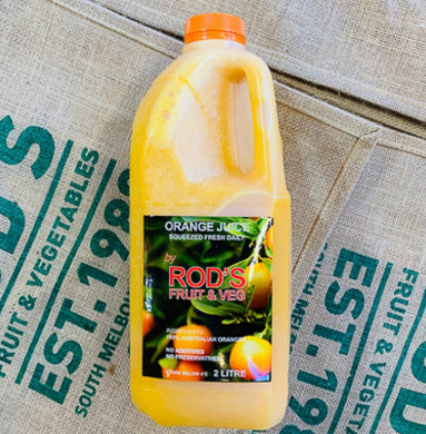 Juice- Orange 2L (Freshly squeezed in store)