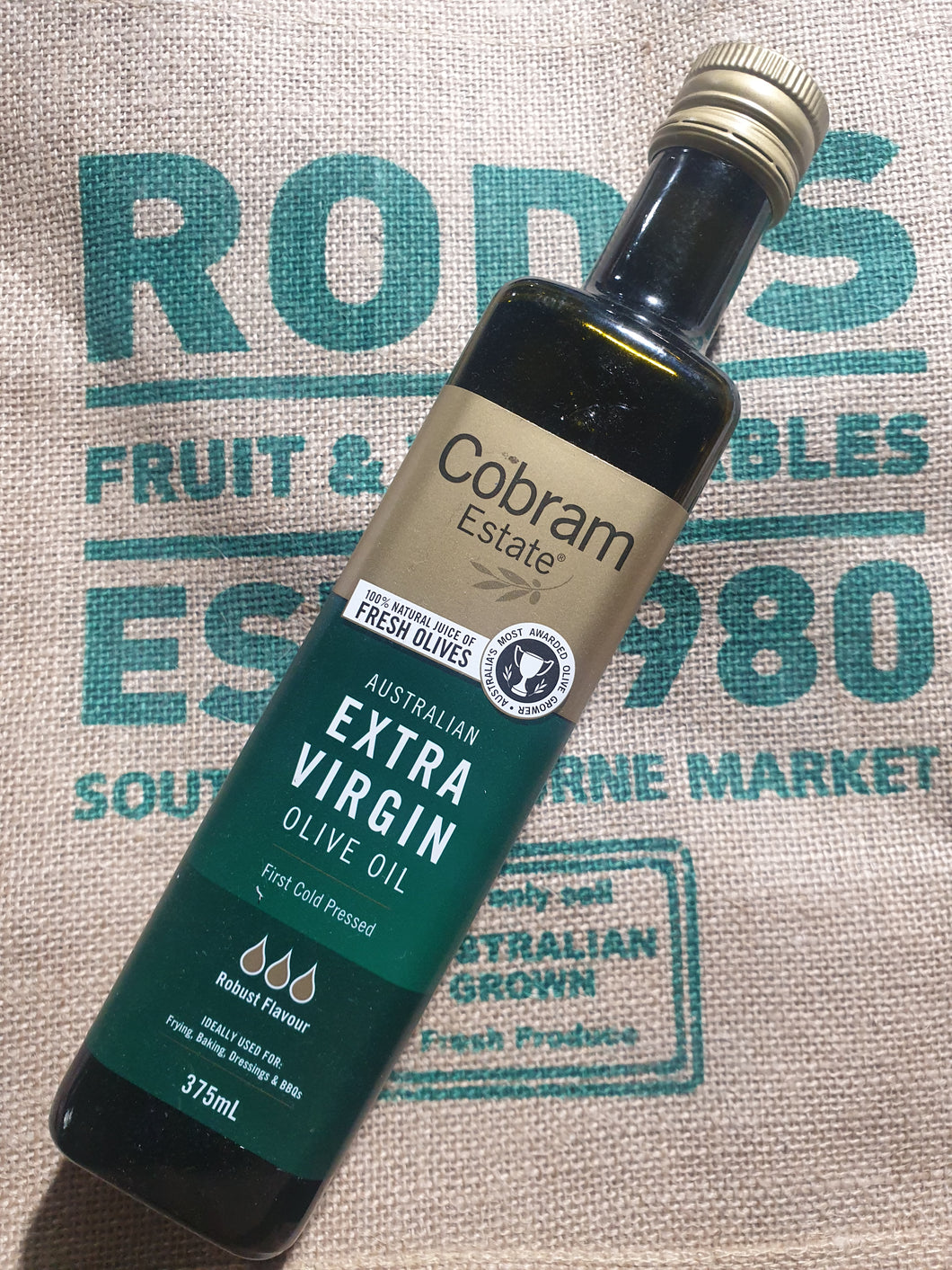 Cobram estate extra virgin oil Robust