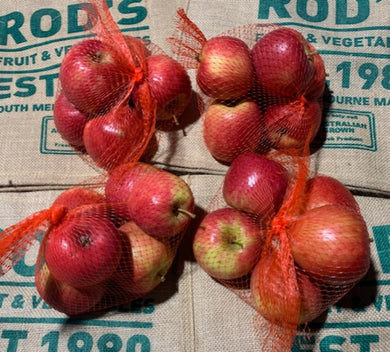 Apple bags- Small  Pink lady
