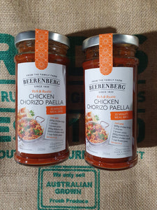 Beerenberg  Meal Base  Chorizo Paella 240ml