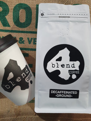4 Blend Barista Coffee Decaffeinated Ground 250g