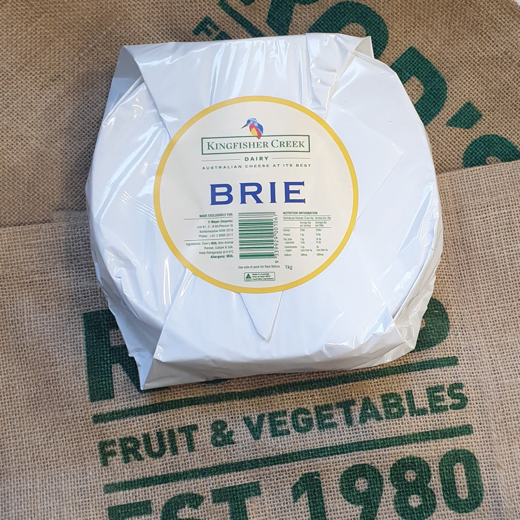 Brie, double 1kg (special) King Fisher