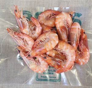 Prawns - Cooked 1kg pack Large