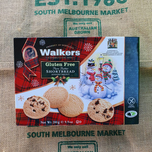 Walkers Gluten Free Assorted Shortbread  280g