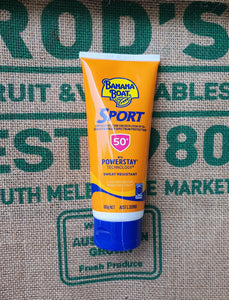 Sunscreen- Banana Boat Sport 100g