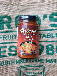 Curry Paste - Red Authentic Thai 210g