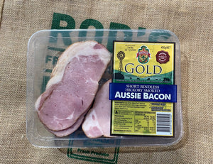 Aussie Bacon Short Rindless 400g