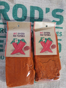 Paprika Hot Ground 100g