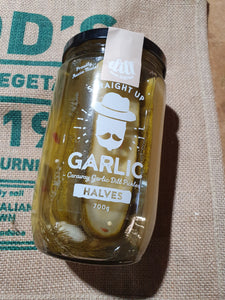 Dill Pickles Halves Garlic  Jar 700g