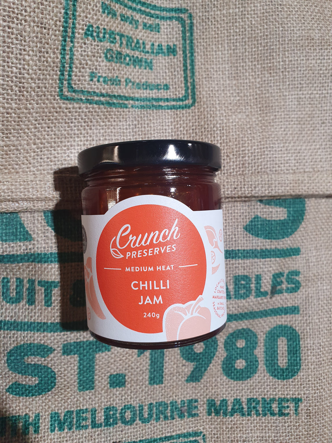Chilli Jam 240g made in Vic