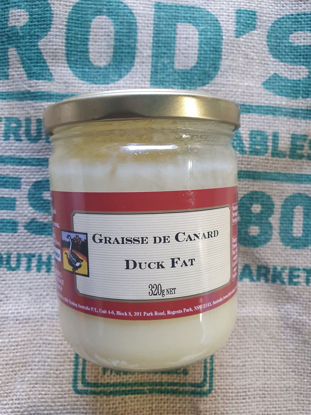 Duck Fat Jar 320g