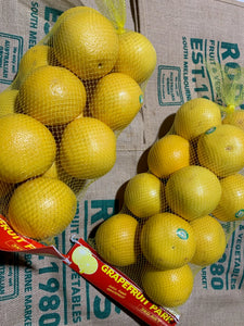 Yellow Grapefruit Bags 3kg