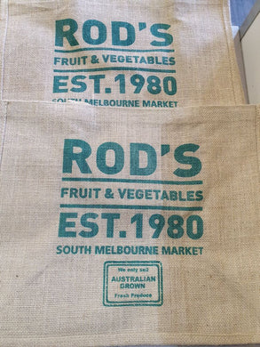 Rod's Hessian Bags
