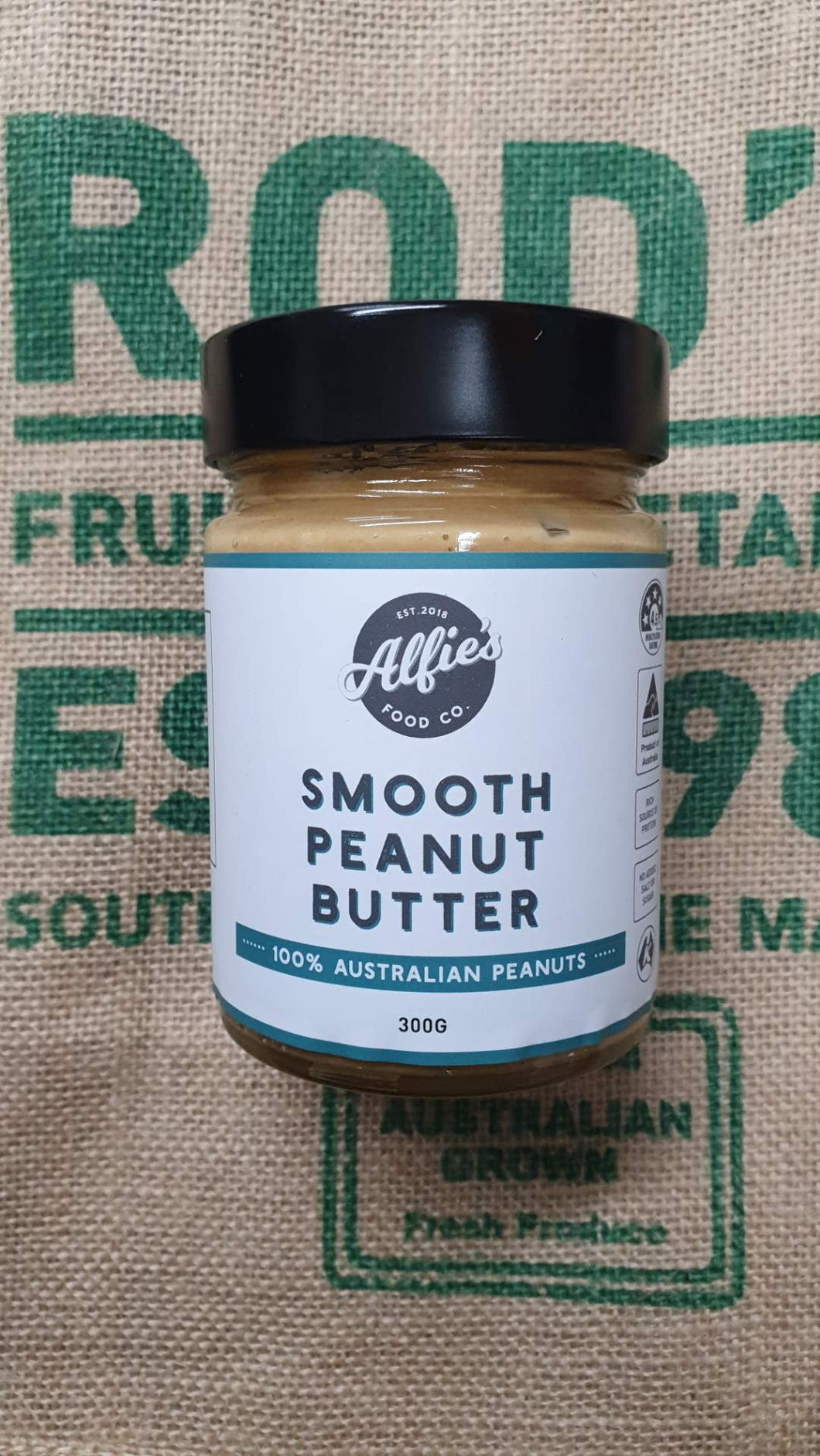 Smooth Peanut  Butter ALFIES 300g