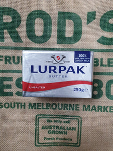 Lurpak Butter unsulted  250g block