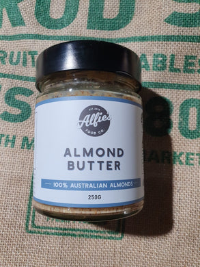 Almond Butter 250g Made Locally