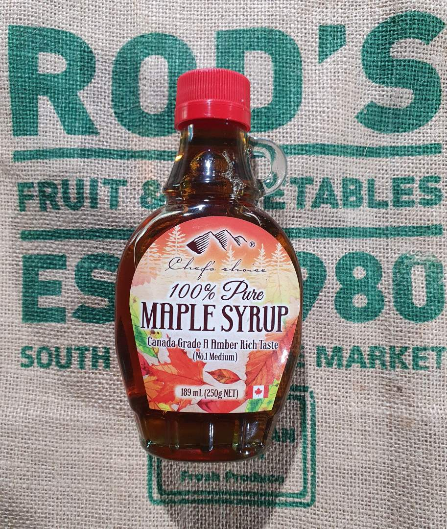 Maple Syrup Canadian  189ml