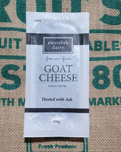 Merideth Dairy Ash coated Goats Cheese 150g