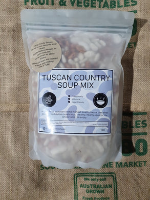 SOUP  MIX - TUSCAN 1kg  SPECIAL PRICE FOR WINTER!!