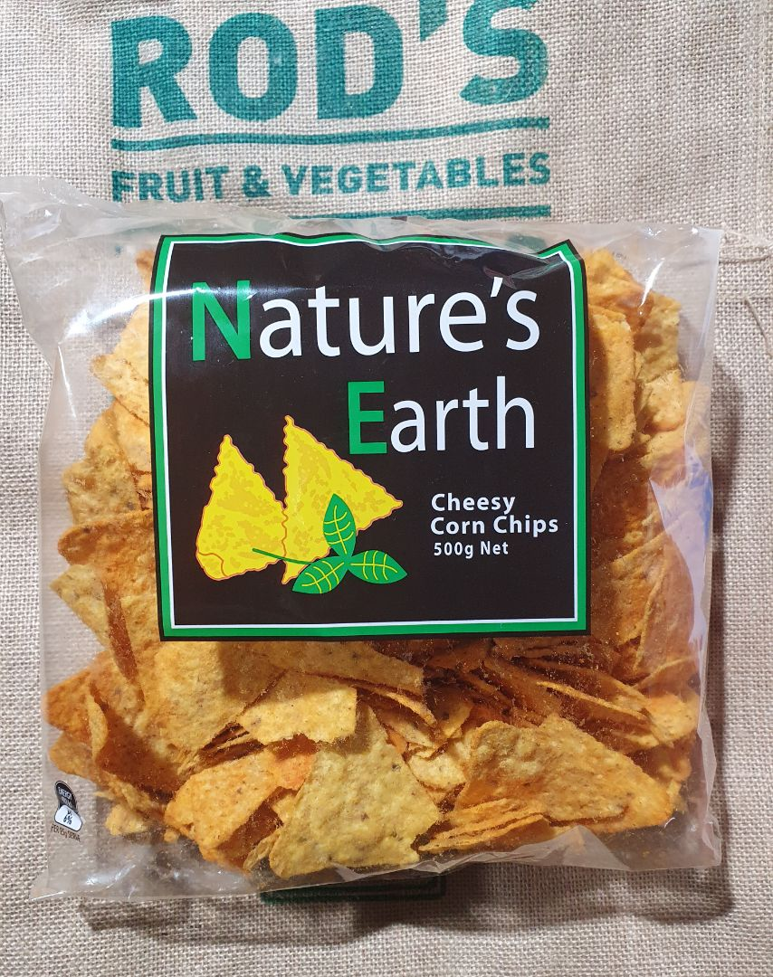 Corn Chips  Cheese! 500g bag