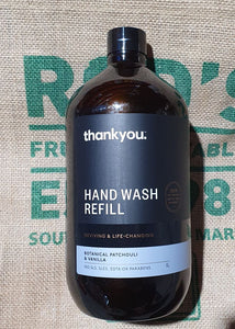 Handwash Refill Thank you1litre