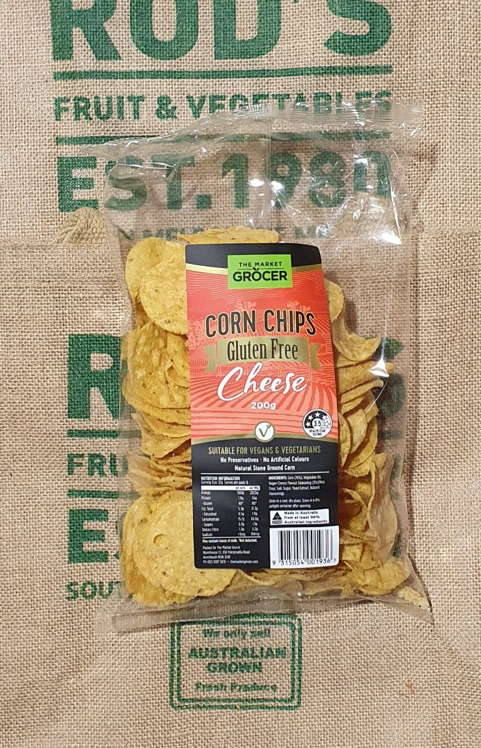 Corn Chips Vegan with cheese NEW